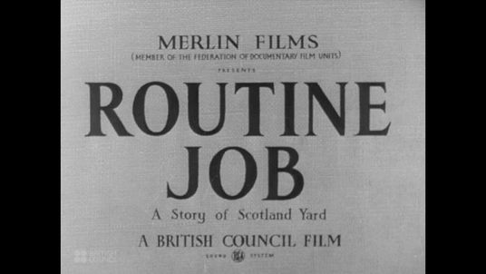 Routine Job (1946)