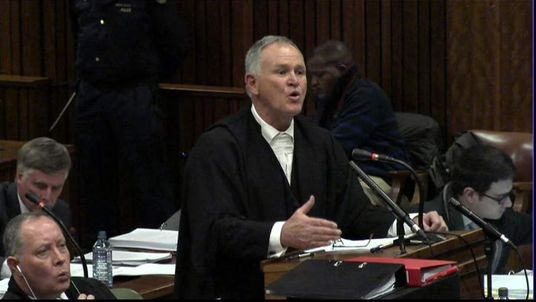 Defence Lawyer, Barry Roux