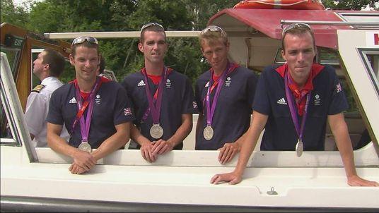 Lightweight men's four rowers
