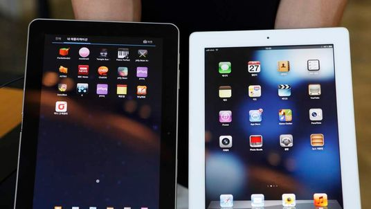 Samsung's Galaxy Tab and Apple's iPad