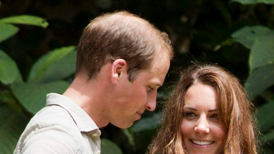 Prince William and Catherine, the Duchess of Cambridge in Borneo