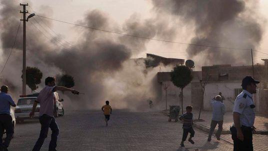 Akcakale shelling