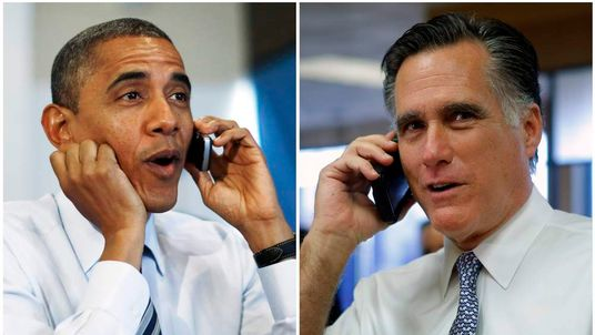 Obama and Romney make phone calls