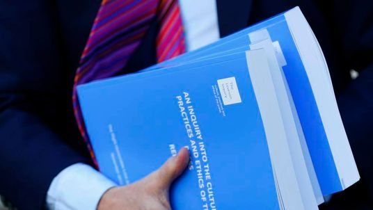 Lord Justice Leveson's report