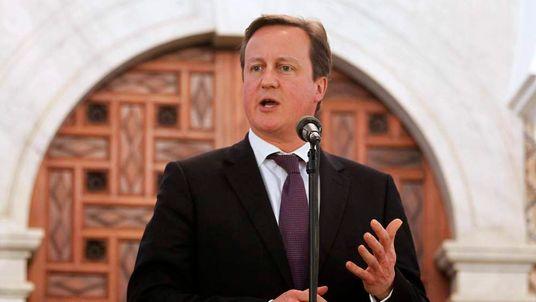 David Cameron In Algeria