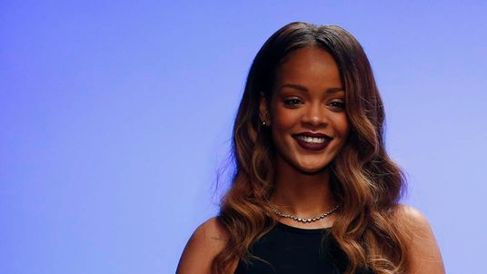 Rihanna's River Island collection debuts at London Fashion Week