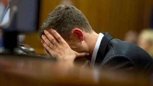 Oscar Pistorius In Court Emotional