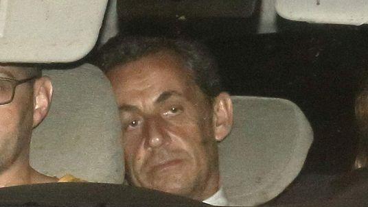 Nicolas Sarkozy Presented To Judge In Paris