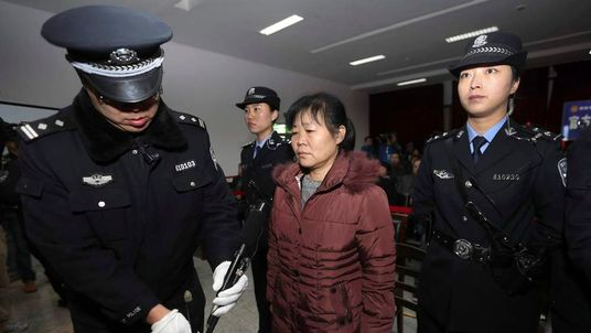 Zhang Shuxia Jailed Over Stealing Babies