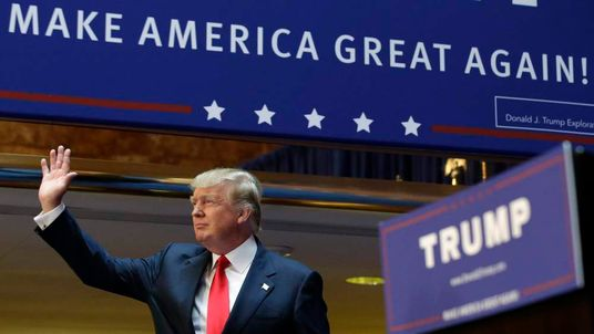 U.S. Republican presidential candidate Trump formally announces his campaign for the 2016 Republican presidential nomination at Trump Tower in New York