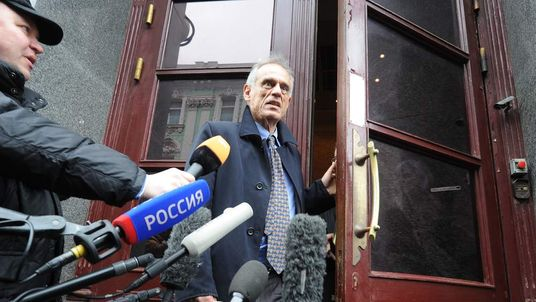 Michael Sarris in Moscow For Bailout Talks