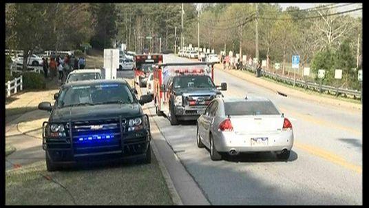 Firefighters held hostage by armed man in Georgia