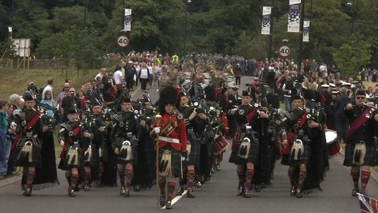 Members of the armed forces celebrate Armed Forces Day