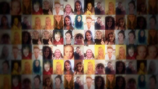 Thousands take 'no make-up' selfies for charity