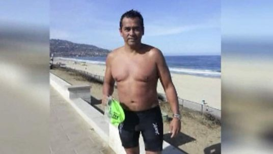 050714 $$ Man attacked by shark in California's Manhattan Beach