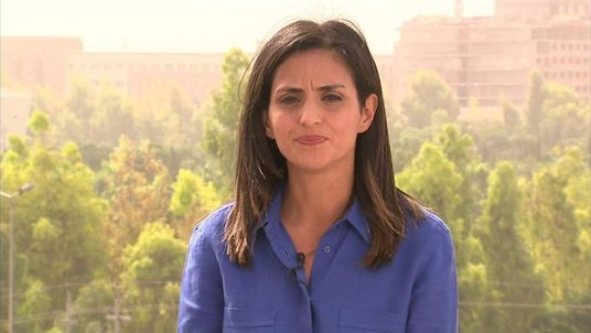 Sky's Middle East Correspondent Sherine Tadros