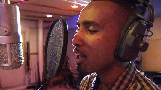 British Somali singer Aar Maanta