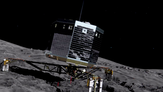Philae's mission at comet 67P animation, Picture: ESA