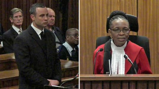 Oscar Pistorius and Judge Thokozile Masipa