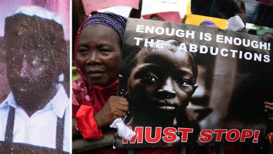 Protesters in Nigeria call for the return of their abducted girls