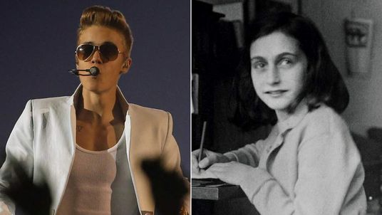 Justin Bieber and Anne Frank