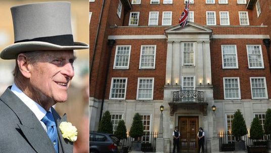 Prince Philip has been admitted to The London Clinic in Harley Street.