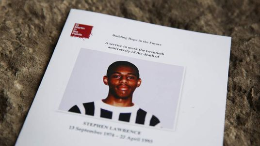 A Memorial Is Held On The 20th Anniversary Of The Murder Of Stephen Lawrence on April 22, 2013