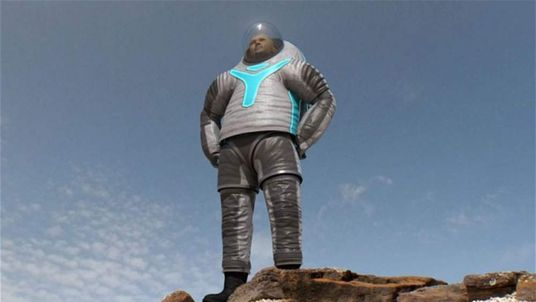 NASA have release pictures of a prototype space suit which US astronauts could wear on a manned mission to Mars.
