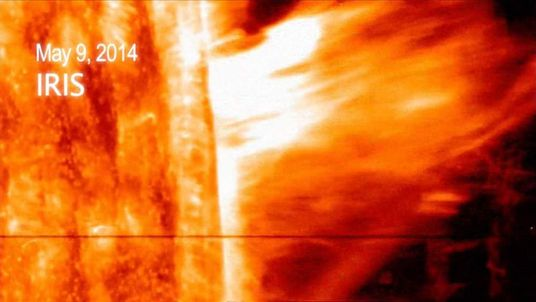Mass ejection from sun