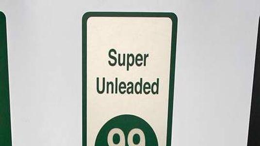 Super Unleaded Fuel Pump