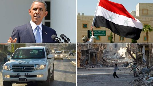 President Obama says the US should take military action in Syria