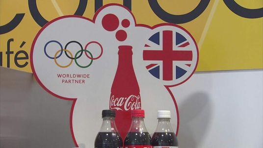 Coca-Cola olympic branding