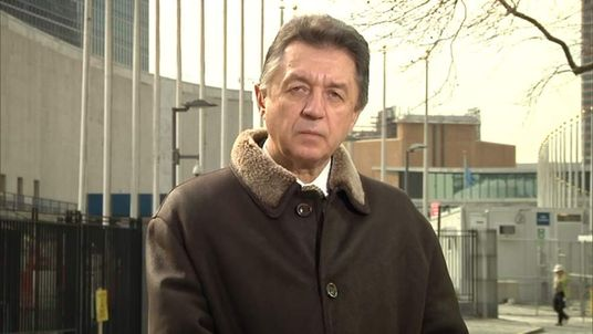 Ukraine's ambassador to the UN Yuriy Sergeyev