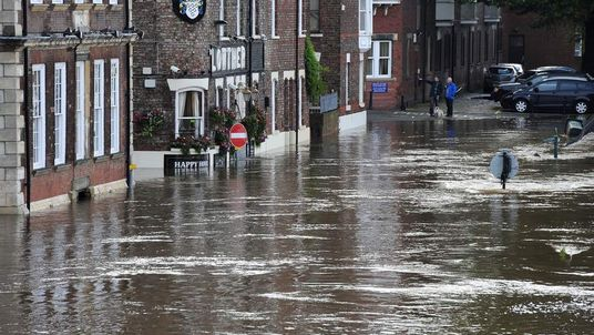 Flooding in York as River Ouse continues to rise