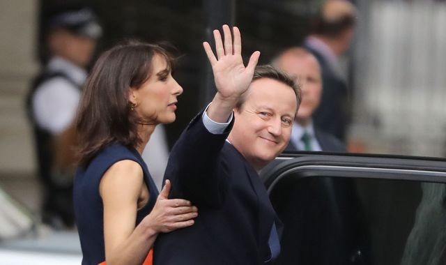Former Prime Minister David Cameron to resign as an MP