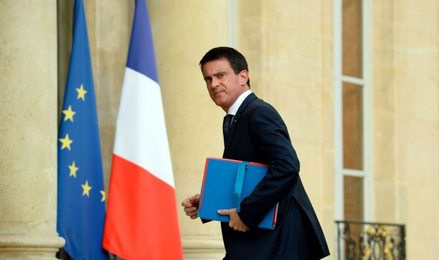 French Prime Minister Manuel Valls to run for presidency