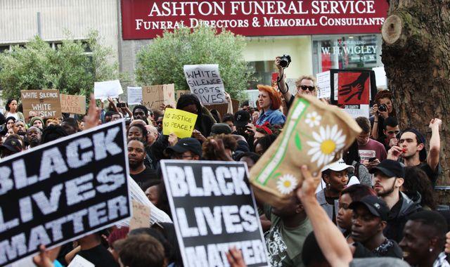 Black Lives Matter Leader Condemns Violence at St. Paul Protest