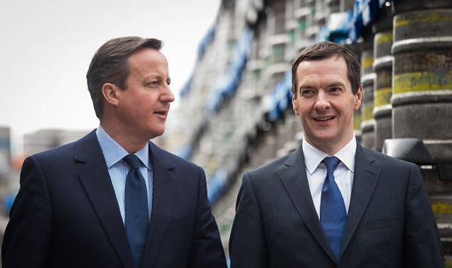 David Cameron and George Osborne cash in with big-money Davos visit