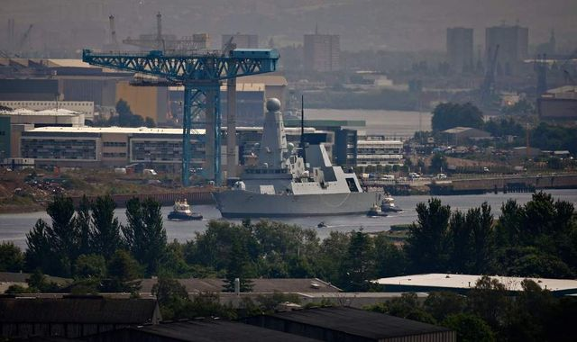 HMS Daring To Help In Fight Against Islamic State