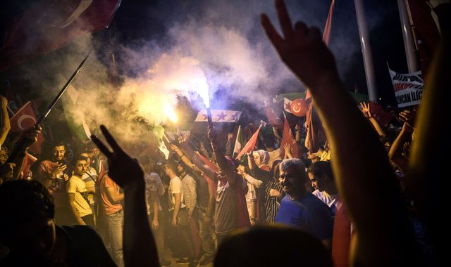 Turkish PM: Purge Of 'Terrorists' Not Over