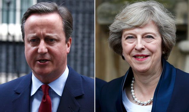 Cameron's 'fury' as May 'left him to fight alone' in EU vote - former aide