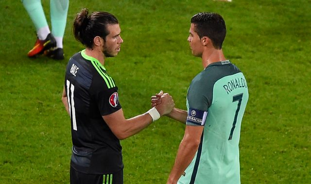 Bale and Ronaldo on Ballon d'Or shortlist