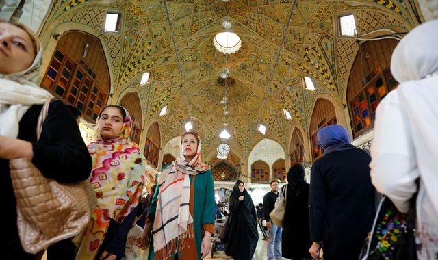 Iranians Seek Contact With Outside World