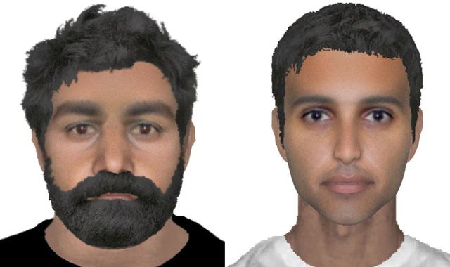RAF Abduction Suspects' E-Fit Images Released