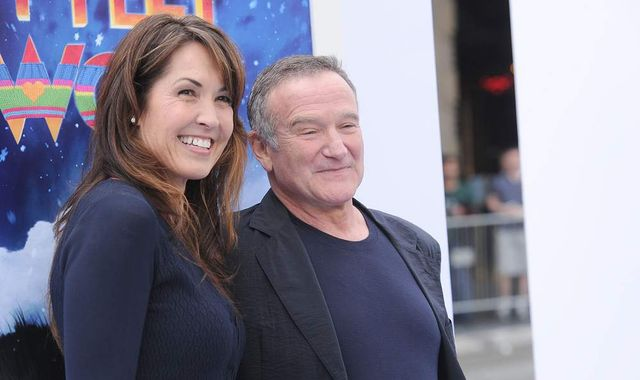 Robin Williams' dementia like 'terrorist in his brain', wife reveals