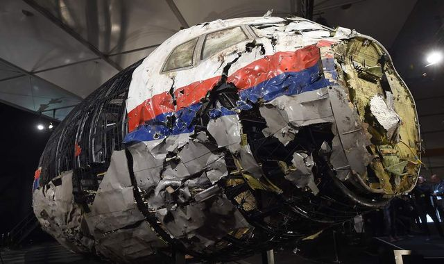 MH17 shot down by 'ground-based air defence system'