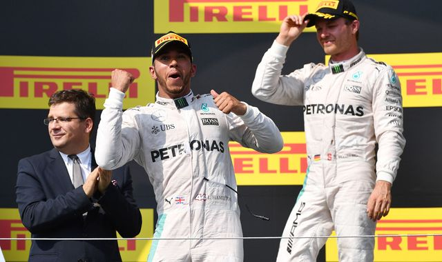 Hamilton Wins in Hungary to Take Overall Lead