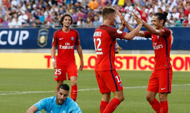 Meunier Bags Brace As PSG Ease Past Real