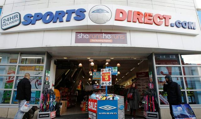 Sports Direct hits out at 'extreme campaign' as profits fall 25%