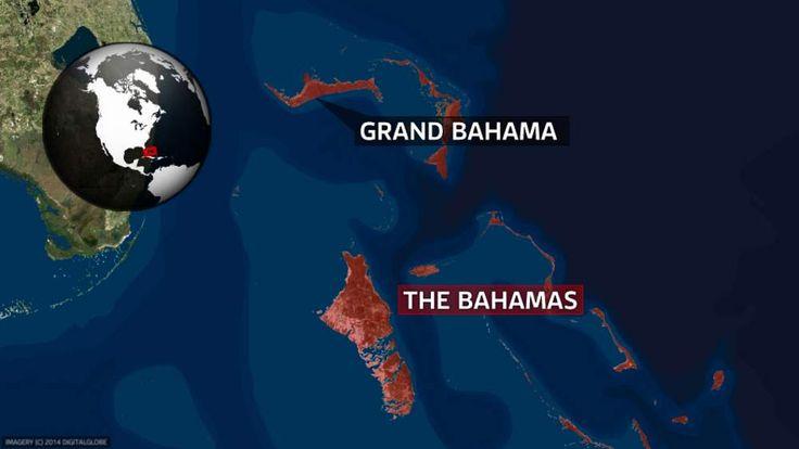 Map of Grand Bahamas
